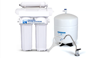 Home Pure RO REVERSE OSMOSIS DRINKING WATER FILTERS SYSTEM 4 STAGE 100 GPD • 84.41£