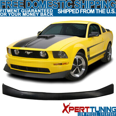 $130.95 • Buy Fit 05-09 Ford Mustang V6 Front Bumper Lip PU