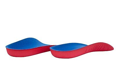 High Arch Support Insoles Plantar Fasciitis 3/4 Foot Orthotic Shoe Inserts UK • 6.89£