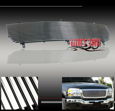 $51.95 • Buy 03 04 05 06 Gmc Sierra Pickup Upper Billet Grille Grill