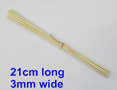 AU4.32 • Buy 27 Premium Rattan Reed Fragrance Oil Diffuser Replacement Refill Sticks Reeds