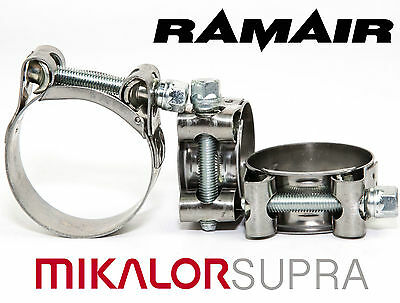 £21.53 • Buy MIKALOR W2 Stainless Supra Heavy Duty Exhaust Pipe Clip Hydraulic Hose Clamp