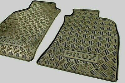 AU44 • Buy Toyota Hilux Rubber Floor Mats Front Pair Feb 05 - Sept 11 New Genuine Accessory
