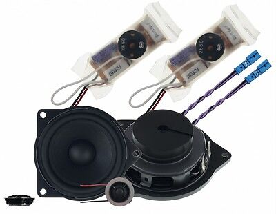 Fits BMW 1 Series E81 4  Custom Fit 2 Way Component Speakers Rainbow IL-C4.2E • 237.49£