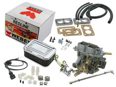 $ CDN373.38 • Buy Jeep Weber 32/36 Dgv Manual Choke Carburetor Conversion K551m  Weber