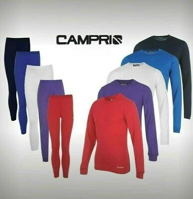 Ladies Campri Stretchy Base Layer Thermal Top Pants Underwear Ski 6-20 • 13.99£