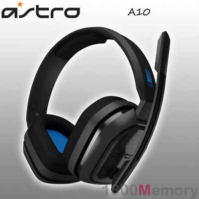 AU149 • Buy Astro A10 Wired Gaming Headset Headphones For PS4 Pro Xbox One PC Mac Blue Grey