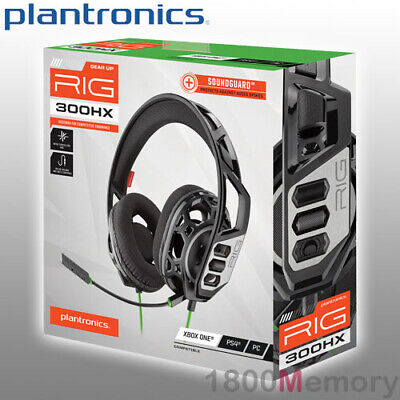 AU99 • Buy Plantronics RIG 300HX Gaming Headset Over Ear 3.5mm Jack SoundGuard For Xbox One