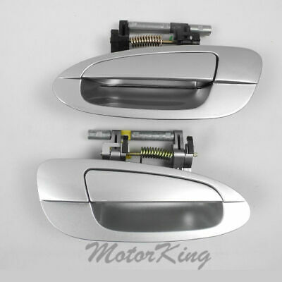 $39.40 • Buy MotorKing Door Handle For NISSAN ALTIMA Outside Rear Pair K12 Silver DS341