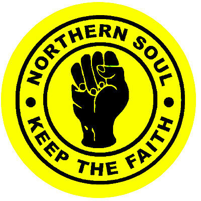 Northern Soul - Ktf (yellow) - Car / Window Inside Sticker + 1 Free - Brand New • 4.99£