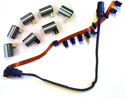 $184.95 • Buy 095 096 01M Transmissions 7 Piece Solenoid Set & Wire Harness 1990 UP VW