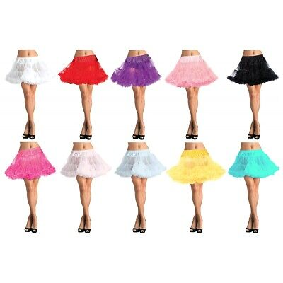 £21.82 • Buy Petticoat Layered Tulle Adult Womens Halloween Costume Accessory Fancy Dress