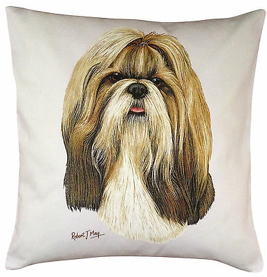 £14.99 • Buy Shih Tzu RM Breed Of Dog Themed Cotton Cushion Cover - Perfect Gift