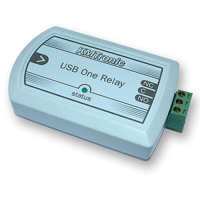 $34.75 • Buy KMTronic USB One Channel Relay For MACH3 CNC Software, BOX