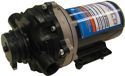EVERFLO 12 Volt 5.5 GPM Diaphragm Water Transfer Pump For Motorhomes / Trailers • 103.09£