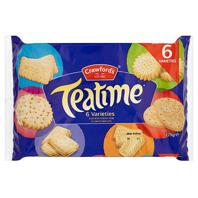 £33.23 • Buy Crawford Teatime Assorted Biscuits 20 X 275g