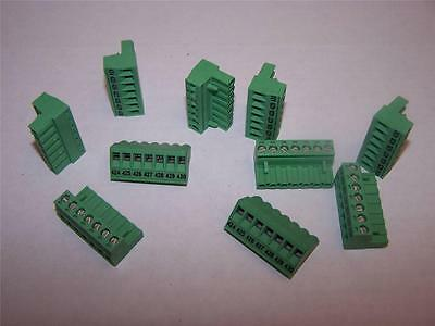 $17.50 • Buy Phoenix Contact  Mstb-2.5/7-st Printed Pcb Terminal Block New  Lot Of 10