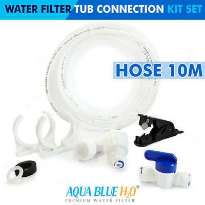 AU27.95 • Buy Fridge Filter Water Pipe Tubing Hose Connection Plumbing Kit Connectors Tap 10M