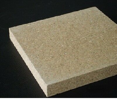 £13.99 • Buy Stove Brick, Fire Brick 250mm X 200mm X 25mm Vermiculite DIY You Cut To Size