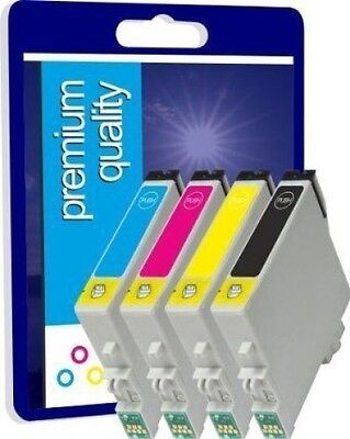4 Non-OEM Ink Cartridges T1285 For Epson Stylus SX125 S22 BX305FW Plus Printers  • 2.99£
