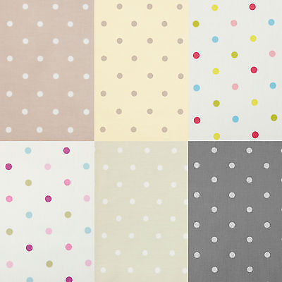 Polka Dot Spot PVC Oilcloth Wipe Clean Tablecloth All Sizes Colours & Designs  • 14.99£