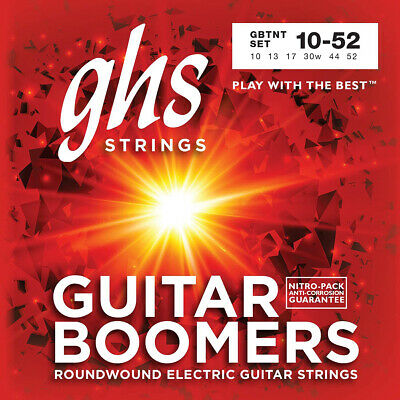 $ CDN9.92 • Buy GHS Electric Boomers GBTNT Thin/Thick Nickel-Plated Steel Guitar Strings (10-52)