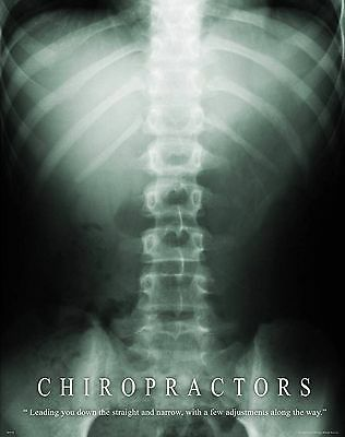 $9.95 • Buy Chiropractic Motivational Poster Print Medical Books Office Room Wall Art  Decor
