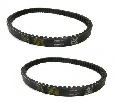 $ CDN23.11 • Buy (2) TORQUE CONVERTER COGGED BELTS For Yerf Dog Q43103W Q43203W Mini Bikes Karts