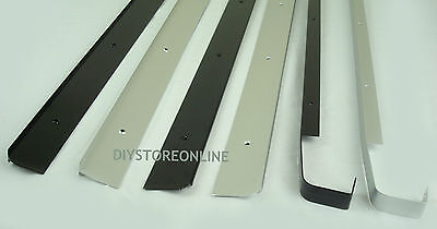 Kitchen Worktop Joining Strips End Straight Corner Joint Black Silver 30 & 40mm • 8.68£