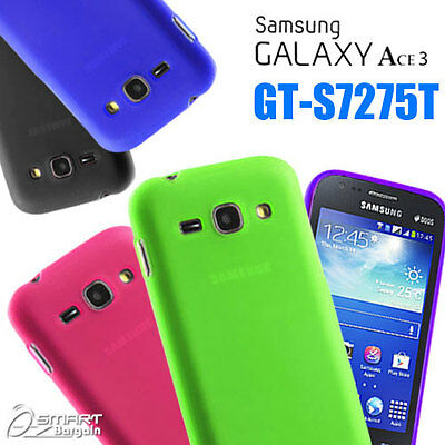 £2.70 • Buy Matte Gel Case For Samsung Galaxy ACE 3 GT S7275 T + ScTPU Jelly Soft Cover 7272