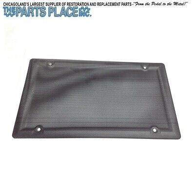 $19 • Buy 1964-88 Rear Package Tray Speaker Grille Cover 6 X 9 - Hardtop / Convertible