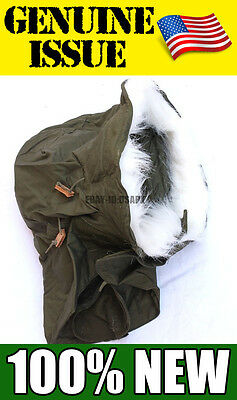 $35.50 • Buy NEW GENUINE US Military HOOD Extreme Cold Weather  FUR M-65 M-51 FISHTAIL PARKA