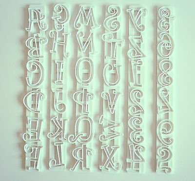 Tappit Capital Letters & Numbers, Cutters, Sugarcraft, Cake Decorating • 4.99£