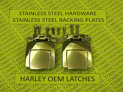 AU47.49 • Buy OEM For HARLEY DAVIDSON TOUR PACK LATCHES CLASSIC ELECTRA GLIDE ULTRA PAK PAC HD