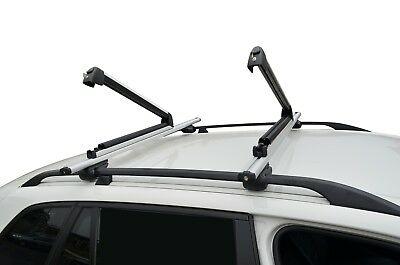 AU100 • Buy Alloy Ski Snow Board Carrier Holders Roof Rack Mounted Lockable 78cm Large Size