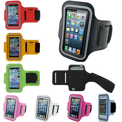 Sports Running Jogging Gym Armband For Samsung Galaxy Note 1,2,3, S7 G930F • 2.98£