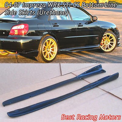 $149.99 • Buy Bottom Line CS Style Side Skirts (Urethane) Fits 04-07 Subaru Impreza STi