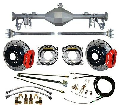 $2699.99 • Buy Currie 05-13 Mustang Rear End & Wilwood 12  Drilled Disc Brakes,red Calipers,etc