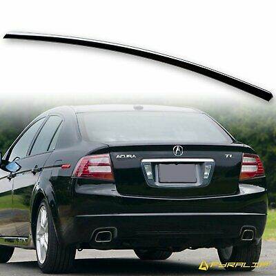 $ CDN107.15 • Buy Fyralip Painted Rear Trunk Lip Spoiler 04-08 For Acura TL Nighthawk Black B92P