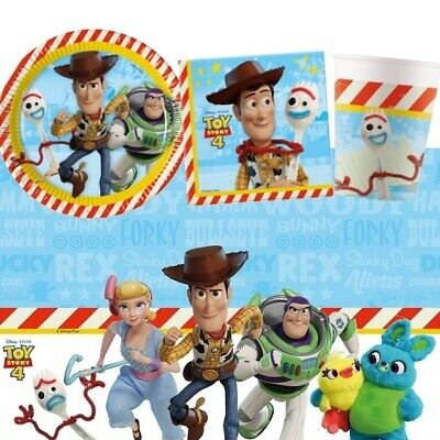 Disney Toy Story 4 Movie Party Tableware, Decorations & Balloons • 3.49£