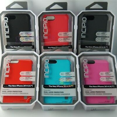 AU21.83 • Buy INCIPIO APPLE IPhone 6 6s (4.7 ) DualPRO Case 2 Layered Cover ALL Colors INSTOCK