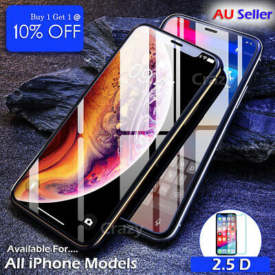 AU2.45 • Buy Tempered Glass Film Screen Protector For Apple IPhone X XS XR SE 5S 6S 7 8 Plus