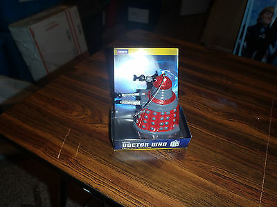 Doctor Who Red Dalek Blow Mold Christmas Ornament New In Box • 4.48£