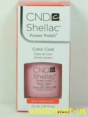 AU18.85 • Buy CND Shellac GelColor UV/LED #90484_Blush Teddy 0.25fl.Oz