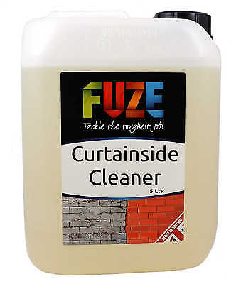 Curtainside Cleaner,  Pvc Cleaner, Marquee Cleaner, Bouncy Castle Cleaner - 5 L • 18.45£