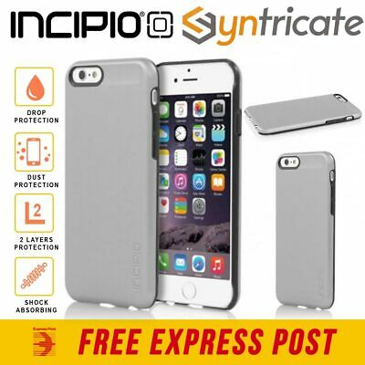 AU29.95 • Buy INCIPIO Feather SHINE Sleek Slim Case For IPhone 6S IPhone 6 - Silver Colour