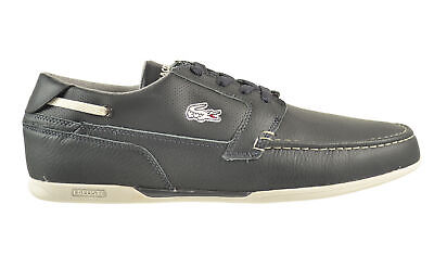 Lacoste Dreyfus CLL SPM Leather Men's Shoes Dark Grey-Light Grey 7-25spm5014-2g4 • 67.35£