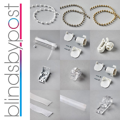 Roman Blind Parts, Spare & Accessories - Chains, Brackets, Tape, Cords, Controls • 3£