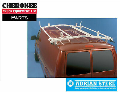 $830.44 • Buy Adrian Steel 64-FDECO, 7ft. Double Grip-Lock Ladder Rack For Ford Econoline