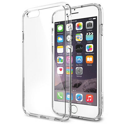 AU19.85 • Buy Spigen® [Ultra Hybrid] Apple IPhone 6/6s Shockproof Bumper Case Clear TPU
